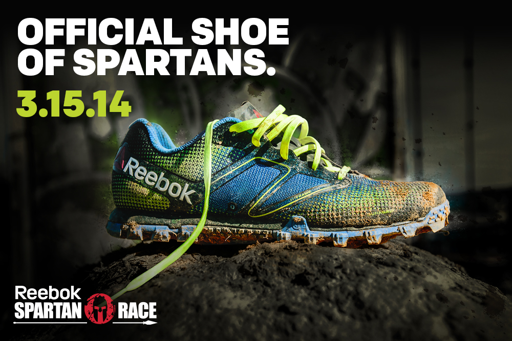 Entry to any 2014 Reebok Spartan Race